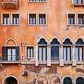 Venetian Building Wall With Windows Architectural Texture by Oleksiy Maksymenko