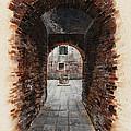 Venetian Courtyard 01 Elena Yakubovich by Elena Yakubovich