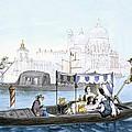 Venetian Gondola, From Vedute Dei by Giovanni Battista Cecchini