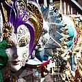 Venetian Masks 1 by Ellen Henneke