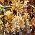 Venetian Masks 2 by Karen Zuk Rosenblatt