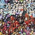 Venetian Masks by Julia Gavin