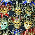 Venetian Opera Masks by George Buxbaum