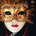 Venetian Papier Mache Mask by Mark Daffey