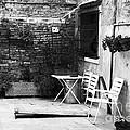 Venetian Street Scene by John Rizzuto