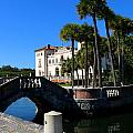 Venetian Style Bridge And Villa In Miami by Christiane Schulze Art And Photography