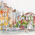 Venezia Grand Canal by Pat Katz