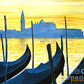Venezia Venice Italy by Jerome Stumphauzer