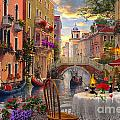 Venice Al Fresco by MGL Meiklejohn Graphics Licensing