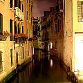 Venice At Night by David Miller