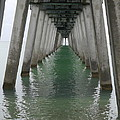 Venice Beach Pier Structure by Christiane Schulze Art And Photography