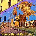 Venice Beach Posterized by John Malone