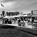 Venice Beach Street Venders by W Axxemanne