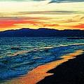 Venice Beach Sunset by Jerome Stumphauzer