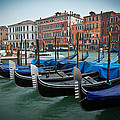 Venice Boats by Simon  Park