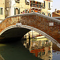 Venice Bridge by Karen Zuk Rosenblatt