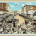 Venice Ca Rally- 1920 by Dwight Goss