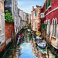 Venice Canal 4 by Samantha Anne Hutchinson