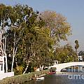 Venice Canal Bridge by Tomas Benavente