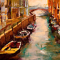 Venice Canal by David Patterson