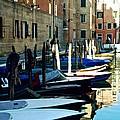 Venice Canal by Ricardo J Ruiz de Porras