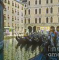 Venice Gondolas by Bob Phillips