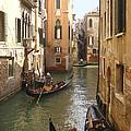 Venice Gondolas by Karen Zuk Rosenblatt