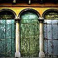 Venice Italy 3 Doors by Gigi Ebert