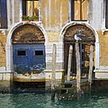 Venice Italy Double Boat Room by Robyn Saunders