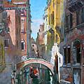 Venice Italy by Ylli Haruni