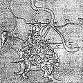 Venice: Map, 12th Century by Granger
