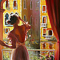 Venice Morning. by Roman Fedosenko