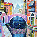 Venice Reflections by Michel Campeau
