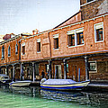 Venice Reflections - Italy by Madeline Ellis
