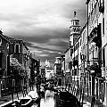 Venice Side Canal by David Resnikoff