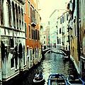 Venice Street Scene by Ian  MacDonald