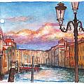 Venice Sunset by Dai Wynn
