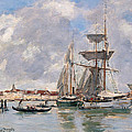Venice. The Grand Canal by Eugene Boudin