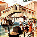 Venice Vintage Poster by Cool Canvas