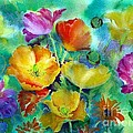 Ventana Poppies by Summer Celeste