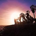Ventura Beach Sunset by Mary Ellen Frazee