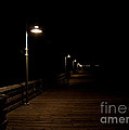 Ventura Pier At Night by John Daly