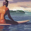 Ventura Surfer Girl by Tim Gilliland