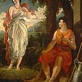 Venus And Anchises by Benjamin Robert Haydon