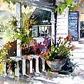 Veranda Shadows by Rae Andrews