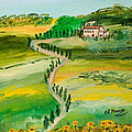 Verde Sentiero by Loredana Messina