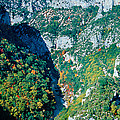 Verdon Gorge In Autumn by Panoramic Images