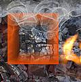Vermilion On Fire by Clair Dunn