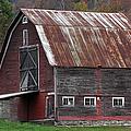 Vermont Barn Art by Juergen Roth