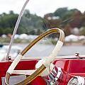 Vermont Boat Docked by Sara Schroeder